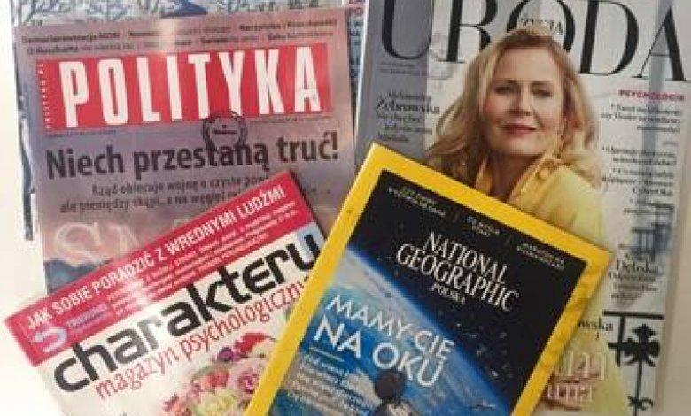 Czytaj prasę w bibliotece