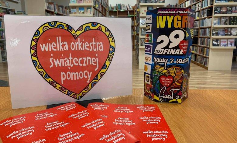 WOŚP nasza biblioteka wspiera akcję!