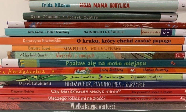 Nowości książkowe dla dzieci, młodzieży i dorosłych