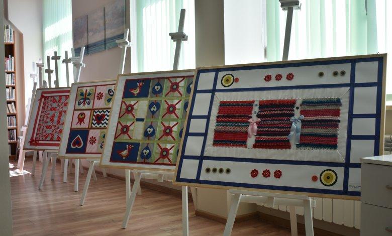 Wystawa prac uczniów Zespołu Szkół Specjalnych im. Marii Grzegorzewskiej w Ostrówku