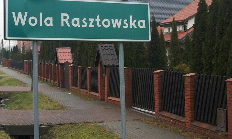 Informacja dotycząca pracy filii w Woli Rasztowskiej