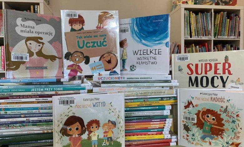 """""""Biblioteczka apteczka"""" - książki, które pomagają dzieciom"""